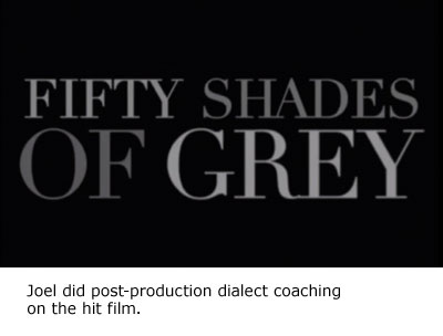 Joel coaches fifty shades of grey
